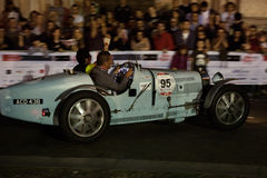 1000 Miglia 2015, ιταλική φυλή του κλασικού αυτοκινήτου Στοκ Εικόνες