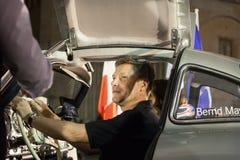 1000 Miglia 2015, ιταλική φυλή του κλασικού αυτοκινήτου Στοκ Φωτογραφίες