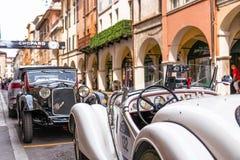 Miglia 1000 2017, Брешия - Италия 17-ое мая 2017: Исторические автогонки Mille Miglia стоковые изображения rf