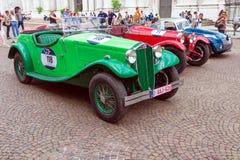 Miglia 1000 2017, Брешия - Италия 17-ое мая 2017: Исторические автогонки Mille Miglia стоковое фото rf