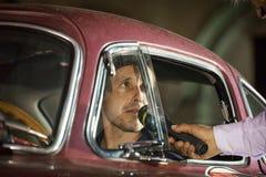 1000 Miglia 2015年,经典汽车意大利种族  库存图片
