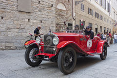 1000 Miglia 2015年, Italys著名赛车 库存图片