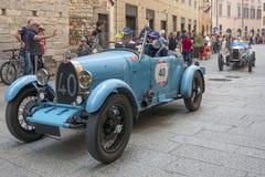 1000 Miglia 2015年, Italys著名赛车 免版税库存照片