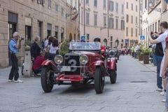 1000 Miglia 2015年, Italys著名赛车 免版税图库摄影