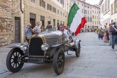 1000 Miglia 2015年, Italys著名赛车 免版税库存图片