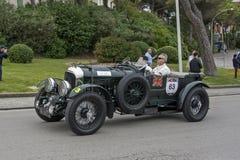 1000 miglia, Bentley 4 5 litri S C (1930), SCHREIBER Wolfgang a Fotografia Stock