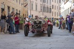 1000 Miglia 2015, beroemd de autoras van Italys Stock Afbeeldingen