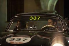Miglia 1000 2015, course italienne de voiture classique Photographie stock libre de droits