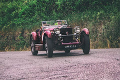 Miglia de Mille MERCEDES BENZ 2015 710 1929 SSK Foto de Stock