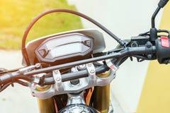 Miglia del motociclo Fotografia Stock