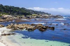 17 miglia di azionamento, Monterey immagini stock