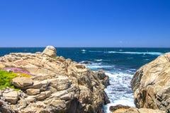 17 miglia di azionamento, Monterey fotografie stock libere da diritti
