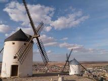 2 miglia di Don Quixote a Consuegra immagini stock