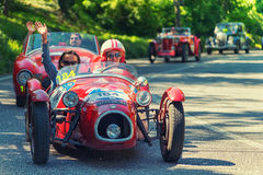 1000Miglia 2016 Italian historical car race Royalty Free Stock Image