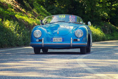 1000Miglia 2016 Italian historical car race Stock Photos