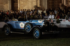 1000 Miglia 2015, italian race of classic car Royalty Free Stock Image