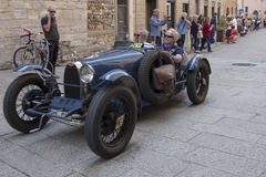 1000 Miglia 2015, Italys famous car race Stock Photography