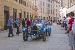 1000 Miglia 2015, Italys famous car race Stock Photos