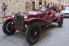 1000 Miglia 2015, Italys famous car race Stock Photos
