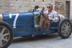 1000 Miglia 2015, Italys famous car race Royalty Free Stock Photography