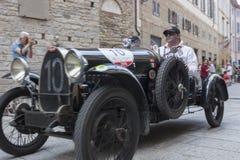 1000 Miglia 2015, Italys famous car race Stock Image