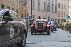 1000 Miglia 2015, Italys famous car race Stock Photo