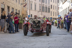 1000 Miglia 2015, Italys famous car race Stock Images