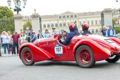 1000 Miglia 2018 in Monza Royalty-vrije Stock Foto's