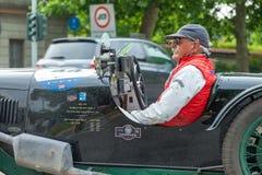 1000 Miglia 2018 in Monza Stock Foto's