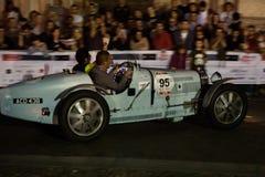 Miglia 1000 2015, raza italiana de coche clásico imagenes de archivo