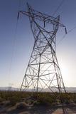 Le linee elettriche fino all'occhio possono vedere. Immagini Stock Libere da Diritti