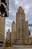 Miglio magnifico - viale del Michigan, Chicago Immagini Stock