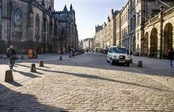 Miglio reale, Edinburgh Fotografie Stock Libere da Diritti