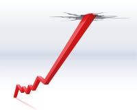 Miglioramento della situazione economica Immagini Stock Libere da Diritti