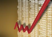 Miglioramento della situazione economica Fotografie Stock