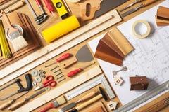 Miglioramento domestico di fai-da-te Immagine Stock