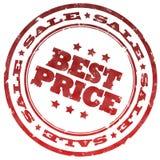 Migliore bollo di prezzi Fotografia Stock Libera da Diritti