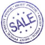 Migliore bollo di vendita di prezzi Fotografie Stock