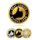Migliore choice_1 Fotografie Stock Libere da Diritti
