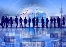 Migliore concetto del commercio globale Fotografia Stock