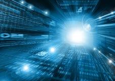 Migliore concetto del Internet del commercio globale da concentrato Fotografia Stock