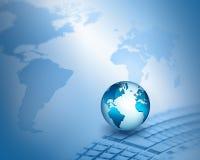 Migliore concetto del Internet del commercio globale dalla serie di concetti Fotografia Stock Libera da Diritti