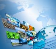 Migliore concetto del Internet del commercio globale dalla serie di concetti Fotografie Stock Libere da Diritti