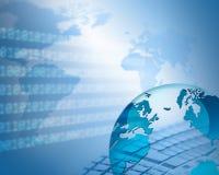 Migliore concetto del Internet del commercio globale dalla serie di concetti Immagini Stock