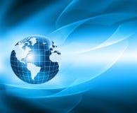 Migliore concetto del Internet del commercio globale Globo Fotografia Stock Libera da Diritti