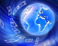 migliore concetto di affari del Internet per sormontare financ Immagine Stock Libera da Diritti