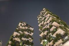 Migliore edificio alto universalmente di notte fotografia stock libera da diritti