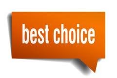 Migliore fumetto choice dell'arancia 3d Fotografie Stock