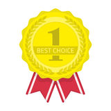 Migliore icona choice Fotografia Stock