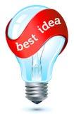 Migliore icona di idea Fotografia Stock